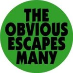 the_obvious_escapes_many