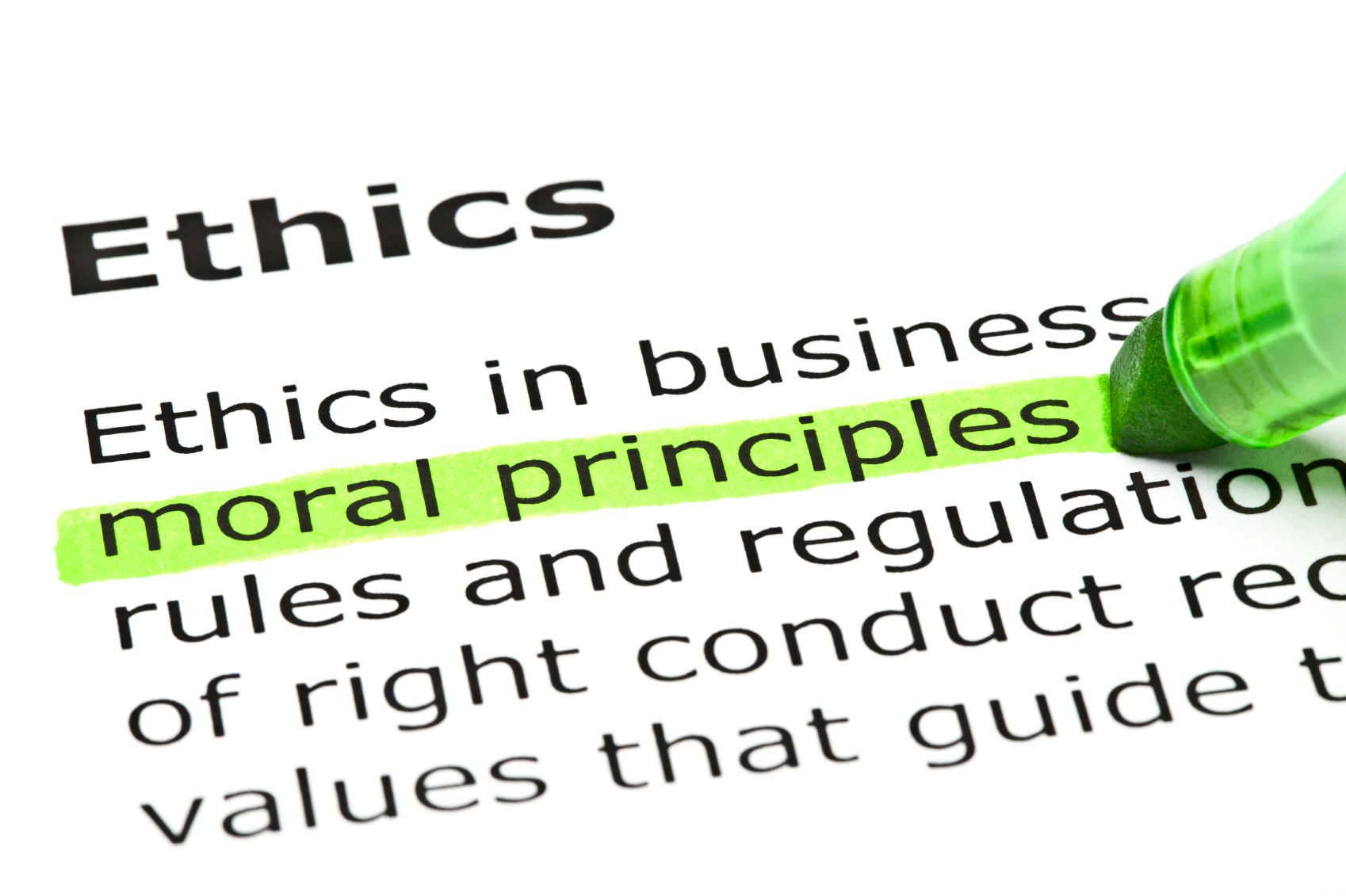 rules of ethics